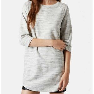 Topshop space dye tunic